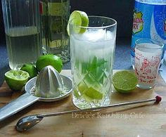 the real deal.... Key West Style Mojito, a Classic Cocktail