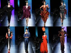 Jean Paul Gaultier http://fashionallovertheplace.blogspot.it/2014/01/haute-couture-day-3.html