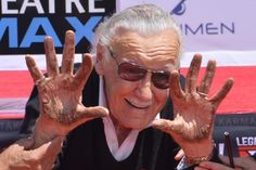 "Comic book legend Stan Lee said he was ""thrilled"" to have his handprints and footprints immortalized in front of Hollywood's TCL Chinese…"