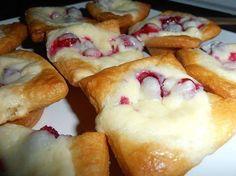 Cream Cheese Cranberry Bites