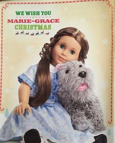 2011 Holiday catalog page featuring Marie Grace.