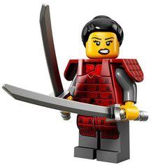 LEGO Minifigures Series 13 (12) Nữ chiến binh Samurai