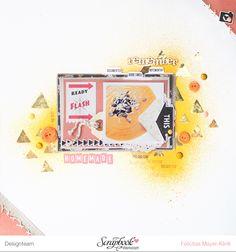Inspirationsgalerie Layout Werkstatt Goldener Herbst als Hintergrundgestaltung Layout von Felicitas Mayer-Klink