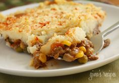 Shepherds Pie, yum!