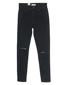 Style B925I1  Colombian Design Mid Waist Butt Lift Boot Leg Jeans in Dark Blue Size 7 *** Find out more about the great product at the image link.