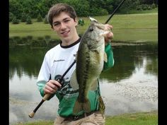 """""""Post-Storm Topwater with the Dragin Baits Bruiser Frog"""" -- Jon lands a big largemouth in northeastern Illinois, May 26, 2012"""