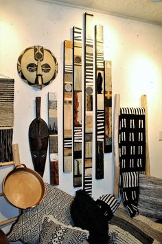 african home decor Modern African Art Rustic Tribal Buy Glazed Wood Metal African Living Rooms, African Room, African Art, African House, African Masks, African Paintings, African Interior Design, African Design, African Home Decor