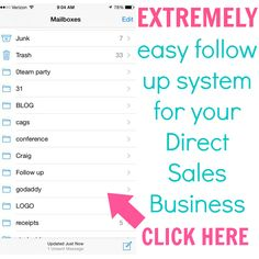 Blog with awesome direct sales tips!!