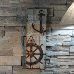 Nautical Decor Rustic Wood Sign Plaque Wall Art Picture Anchor Design #A | Collectibles, Decorative Collectibles, Nautical Décor | eBay!