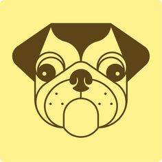 Adria Molins #threefivefifty #09 #sticker #3550 #design #ilustration #yellow #brown #street #art #barcelona #popstar #ra #dog Street Art, Barcelona, Stickers, Yellow, Brown, Dogs, Poster, Fictional Characters, Design