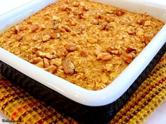Oatmeal-Banana Bake | Noble Pig