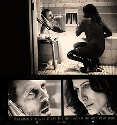 """Because she was there for him when no one else was."" Dr. James Wilson about Dr. Lisa Cuddy and Dr. Gregory House; House MD quotes"