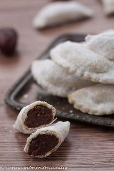 Italian Chestnut Cookies Chestnut Tortelli with Chocolate