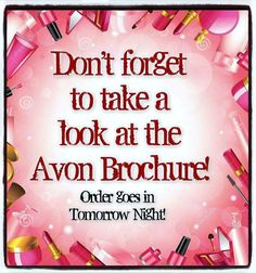 Visit my online store @ www.youravon.com/amartinez8866 for great deals!!