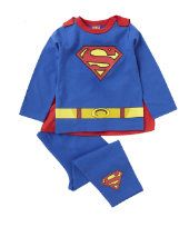 Superman Dress Up Pyjamas With Cape