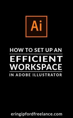 Did you know that you can customize your Illustrator work space? You can! And, it's simple. I'll show you how to re-arrange and show/hide only the windows you need and use so that you can work more efficiently. It also allows you more room for your design and clears all the clutter away from your screen.