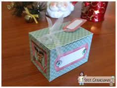 PRINTABLE GIFT treats cookies BOX Merry Xmas di PetitCreaciones