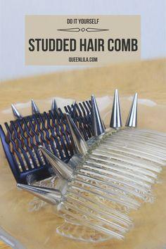 DIY studded hair com