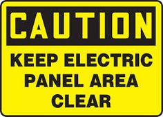 Image result for electrical panel hazards
