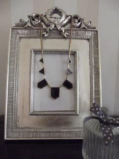 House of Harlow Geometric Necklace   £7.00  Visit Bea Boutique shop etsy.com/shop/beaboutiqueuk