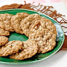Oatmeal Toffee Cookies | MyRecipes.com