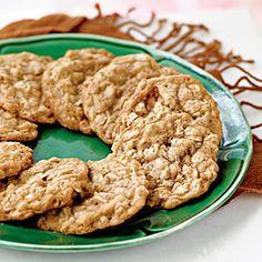 Oatmeal Toffee Cookies | MyRecipes.com