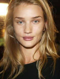 "Spring/summer 2014 hair makeup trends :: ""no makeup"" raw, natural beauty"