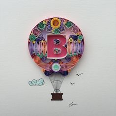 .Quilled Paper Art: I Believe I Can Fly por SenaRuna en Etsy