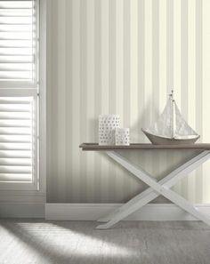 Opera Linen Stripe Wallpaper