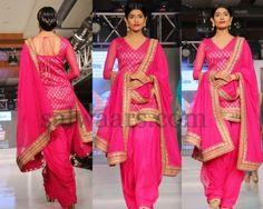 Pink Patiala Latest Salwar