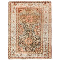 Kysari Antique Rug | From a unique collection of antique and modern turkish rugs at http://www.1stdibs.com/furniture/rugs-carpets/turkish-rugs/