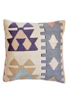 "Lief - 16"" Kilim Pillow, Summer Palace"