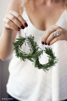 cute low-budget christmas decoration