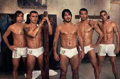 Fabio Cannavaro, Gennaro Gattuso, Andrea Pirlo, Manuele Blasi and Gianluca Zambrotta ...Mmmm..My Italian boys! Forza Italia!