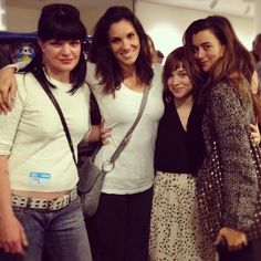 The Girls of NCIS and NCIS: L.A -- Pauley Perrette, Daniela Ruah, Renée Felice Smith, and Cote dePablo.