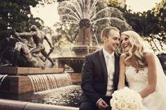 Lauren & Anthony in Hyde Park Sydney Hyde Park Sydney, Wedding Images, Mermaid Wedding, Wedding Photography, Weddings, Wedding Dresses, Collection, Fashion, Bride Dresses