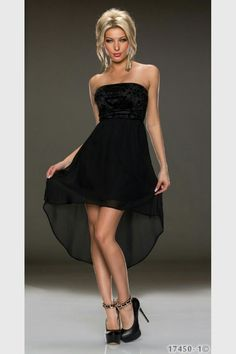 Strapless Dress Formal, Formal Dresses, High Low, Purple, Fashion, Dresses For Formal, Moda, Formal Gowns, Fashion Styles