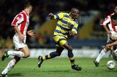 "Faustino ""Tino"" Asprilla (Parma AC, 1992–1996, 84 apps, 25 goals + 1998–1999, 22 apps, 1 goal)"