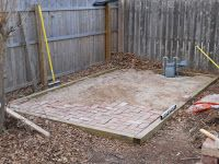 The northwest corner of my backyard is the low spot of my property. When it rains heavily - two or three times a year - this is where the wa...
