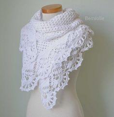 Lovely shawl pattern on Etsy