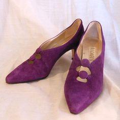 Vintage Shoes1980s pumps heels vendimia el by BornToShopVintage