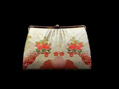 Vintage Japanese Kimono Clutch Vintage by FromJapanWithLove