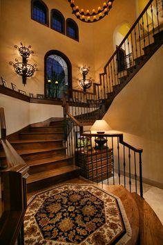 Grand Custom Staircases http://thebigclockstore.com/category/blog/