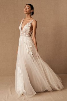 Summer Outfits Discover Willowby by Watters Hearst Gown Hearst Gown - BHLDN Bridal Outfits, Bridal Gowns, Wedding Gowns, Watters Wedding Dresses, Bhldn Dresses, Bhldn Wedding Dress, Casual Wedding, Wedding Bride, Dream Wedding