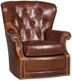 Woodward Swivel Arm Chair