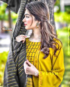Cute Girl Pic, Cute Girls, Stylish Dp, Girls Dpz, Dreadlocks, Sari, Hair Styles, Beauty, Beautiful