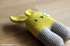 DIY - Two leged rabbit by bebakrea.blogspot.dk #grenediy #sostrenegrene #søstrenegrene – sostrenegrene.com