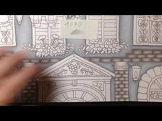 ROMANTIC COUNTRY The third tale - part 2 - prismacolor pencils - YouTube