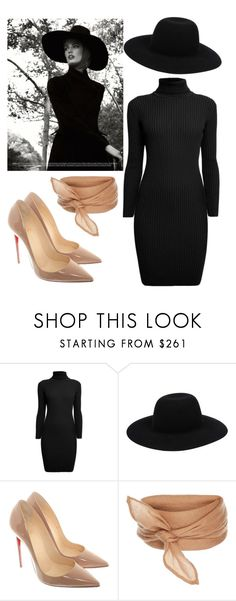 """""""Elegance and Sexy"""" by nagihaneren on Polyvore featuring moda, Rumour London, Off-White, Christian Louboutin ve vintage"""