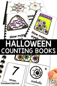 Are you looking for engaging math activities to use this Halloween in your autism or special education classroom? Your students will love these counting adapted books as part of your math activities. Autism Teaching, Autism Classroom, Special Education Classroom, Classroom Activities, Halloween Activities For Kids, Halloween Books, Hands On Activities, Self Contained Classroom, Math Task Cards
